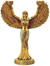 The Messenger of Light - Brass Candle Holder (30.48 cm, 23.50 cm, 9.53 cm)/Indian Brass Statue