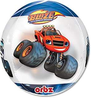 "Blaze and the Monster Machines 15"" Clear Orbz Balloon"