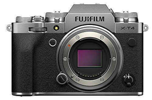 Fujifilm X-T4 Mirrorless Digital Camera [Body Only] International Version - Silver