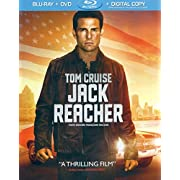 Jack Reacher with Book (Blu-ray / DVD)