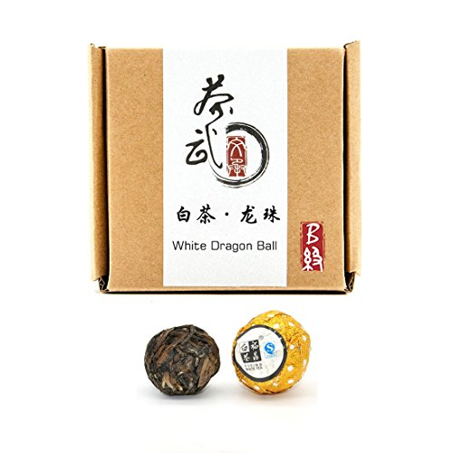 Cha Wu-[B]White Tea Dragon Ball,27pcs/4.5oz/Box,FuJian,China White Tea