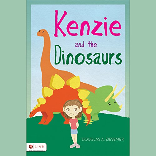 Kenzie and the Dinosaurs audiobook cover art