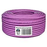 HB-DIGITAL - Cable de Red LAN (Cat. 7A, AWG 23/1, Cobre Profesional, S/FTP, PIMF, LSZH, Libre de halógenos, RoHS, Cat7a, Cat. 7, Cable de Datos Ethernet, 10 Gbit, 1000 MHz, 10 GB)