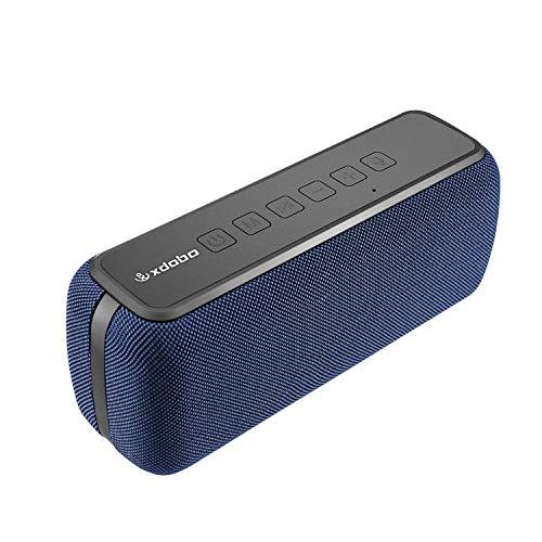 XDOBO 60W Altavoz Inalámbrico Bluetooth 5.0 Impremeable IPX5 8 Horas de Reproducción TWS Altavoces Portátiles de Doble Driver con Asistente de Voz Subwoofer para Fiesta, en Casa, Bar, al Aire Libre