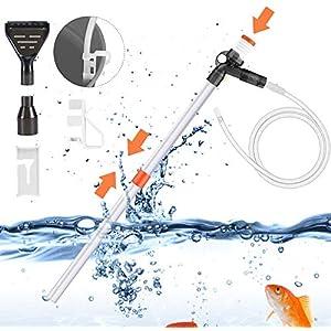 Aquarium Gravel Cleaner Fish Tank Vacuum Gravel Cleaner Ki...
