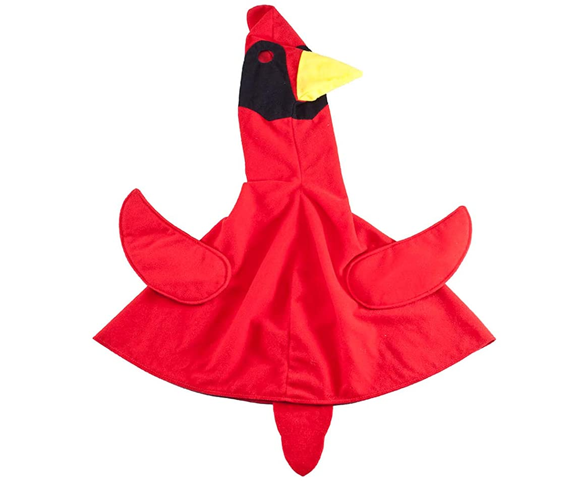 MS HOME One Piece Goose Outfit Cardinal Bird, Red