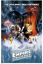 Star Wars Empire Strikes Back Movie Poster