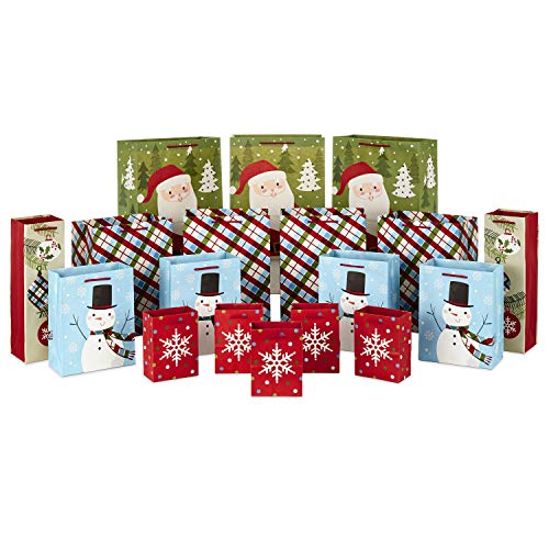 Hallmark 0005XGB1409, Assorted, Traditional Christmas Bulk Bundle