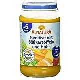 Alnatura Demeter Bio Gemüse-Süßkartoffel-Huhn, glutenfrei, 6er Pack (6 x 190 g)