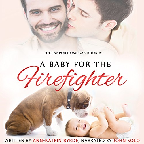 A Baby for the Firefighter audiobook cover art