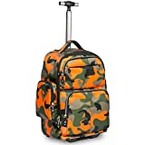 Best Wheeled Backpacks - 20 inches Big Storage Multifunction Travel Wheeled Rolling Review