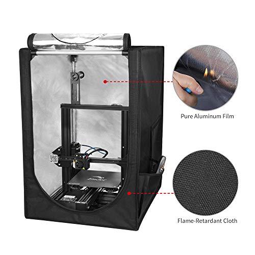 Creality Dustproof & Fireproof Warm Enclosure 3D Printer Tent Constant Temperature Heating Box for Ender 3 Ender 3 pro 3D Printer