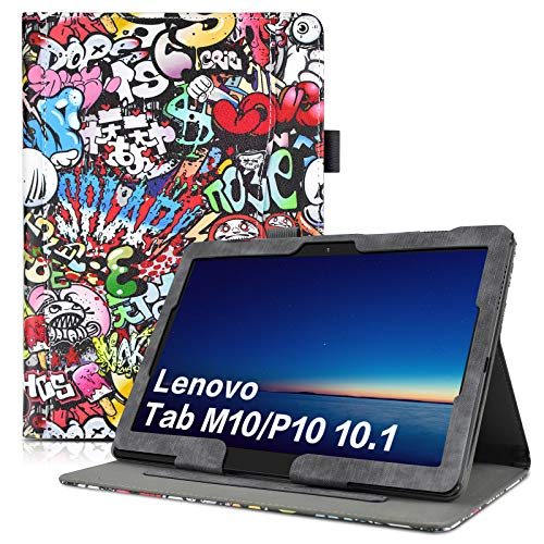 KATUMO Hulle fur Lenovo P10M10 101 Zoll Hulle Klappetui mit Dokumentschlitze Lenovo TB X605FTB X505F Schutzhulle Cover
