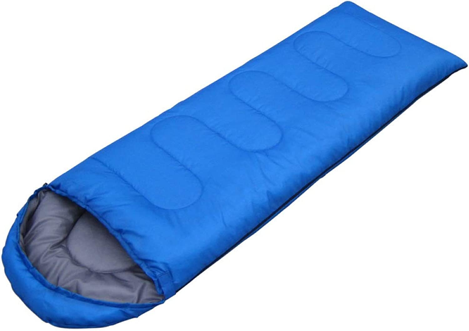 YSYW Camping Sleeping Bag 3-4 Season Warm Weather Lightweight Waterproof Great For Traveling And Outdoor Activities,bluee-0.95kg