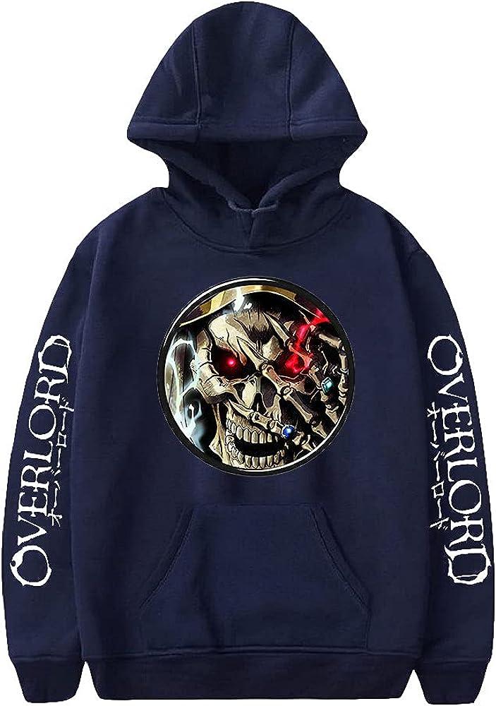 Overlord Popular standard Hoodie Unisex Pullovers Philadelphia Mall Long Tracksu Women Men's Sleeve