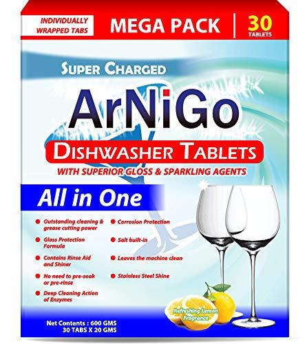 Arnigo All in One Dishwasher Tablets (30 Tabs)