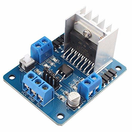 L 298 N Dual H-Brücke DC-Schrittmotor Driver Board Module Controller 5V-35V für Arduino Smart Roboter