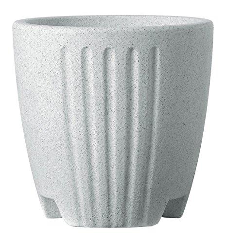 Deroma Bloempot, conisch, 34 x 33,50 cm, steen 34 x 34 x 33,5 cm