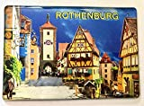Rothenburg ob der Tauber ,Deutschland,Souvenir-Kühlschrankmagnet Fridge Magnet 070421