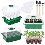 Sunshine smile 3 unidades de invernadero para el cultivo de plantas en forma de invernadero de plástico (LVDI + LV)