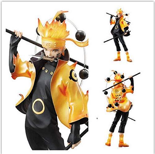 gengxinxin Naruto Shippuden: Whirlpool Naruto Six Immortals Modèle Fait Main Modèle De Décoration Fait Main Design Créatif Worth Collection Décorations De Bureau Collections Cadeaux