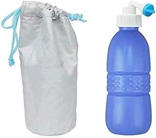 Other Large Portable Shattaf Bidet Bottle Handheld Travel Toilet Shataf Hand Spray Seat Water, 650 ml, Blue