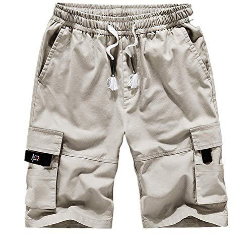 N\P Pantalones Cortos De Verano De Los Hombres Casual Transpirable Pantalones Cortos De Playa De Los Hombres De Camuflaje Impresión - - 7X