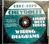 1977 1978 1979 Chevrolet Light Truck Complete Electrical Wiring Diagrams & Schematics - Includes C/K 10-30 Series, Blazer, Suburban, Vans