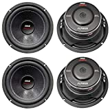 PYLE PLPW6D 6' 2400W Car Audio Subwoofers Subs Woofers DVC Stereo 4-Ohm