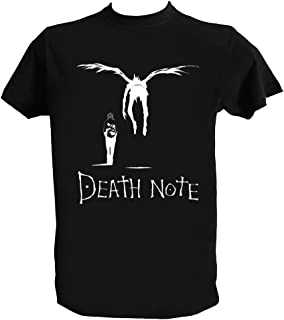 Camiseta Death Note Hombre Niño Ryuk Shinigami Light Yagami Anime Manga