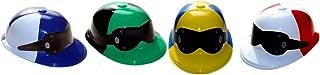 Plastic Jockey Caps 4 Asst.