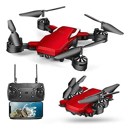 ZHTY WiFi FPV Drohne 2.0MP / 5.0MP Kamera Optical Flow Headless Faltbare RC Quadcopter Flying Minion Rc Hubschrauber EIN Schlüssel Start für Anfänger Kinder Geschenk