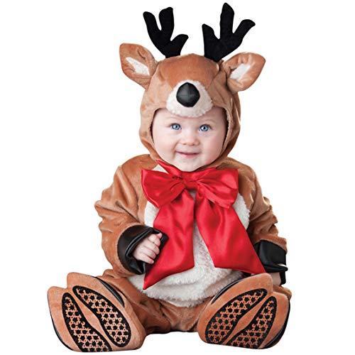 Gaga stad Baby Kerst Jas Set 3 STKS Baby Rompers + Hoed + Voet Cover Kerstmis Carnaval Halloween Fancy Jurk Kostuum