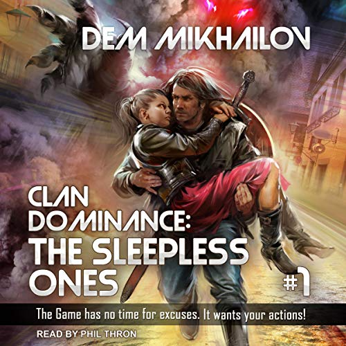 Clan Dominance: The Sleepless Ones, Book 1 cover art