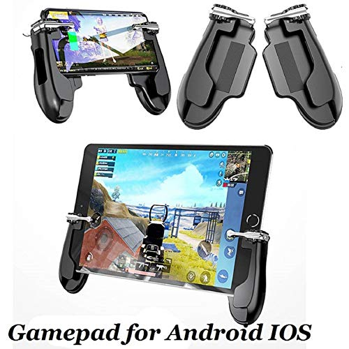 Redcolourful H2 Gamepad PUBG Mobiler Trigger Shooter Controller Joystick für ip/ad Android IOS