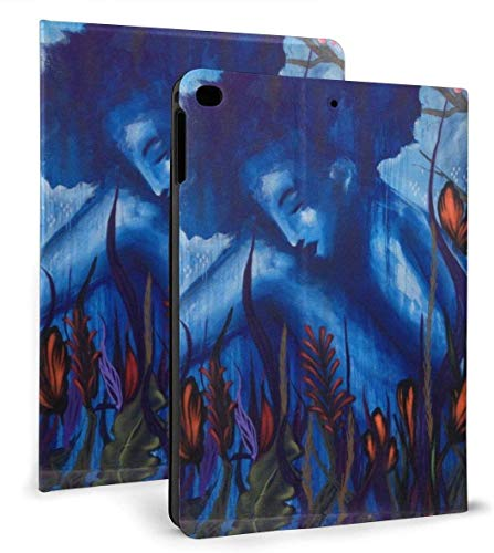 The Maiden is in The Flowers PU Leather Smart Case Auto Sleep/Wake Feature for IPad Mini 4/5 7.9'& IPad Air 1/2 9.7' Case