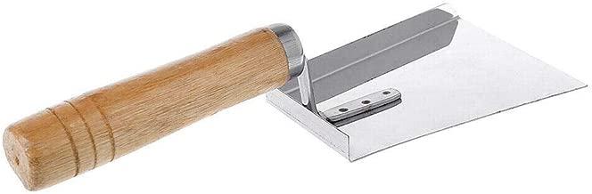 Ranoff Honey Shovel Stainless Steel Wood Handle Cleaning Beehive Shovel Beekeeping Clean Tool Scoop (Silver)