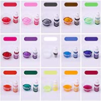 NKDD 10ml15色エポキシ樹脂着色剤ジュエリー液体顔料バスボム石鹸染料-白