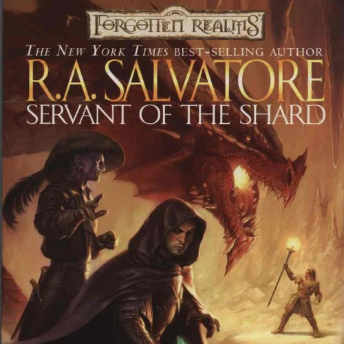 Servant of the Shard audiobook cover art