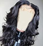 Andrai Hair Short Bob Lace Front Wigs Glueless Full Wavy Wigs Middle Part Natural Wave Synthetic Heat Resistant Fiber Hair Wig With Baby Hair For Black Women Hair Wig 16 Inch