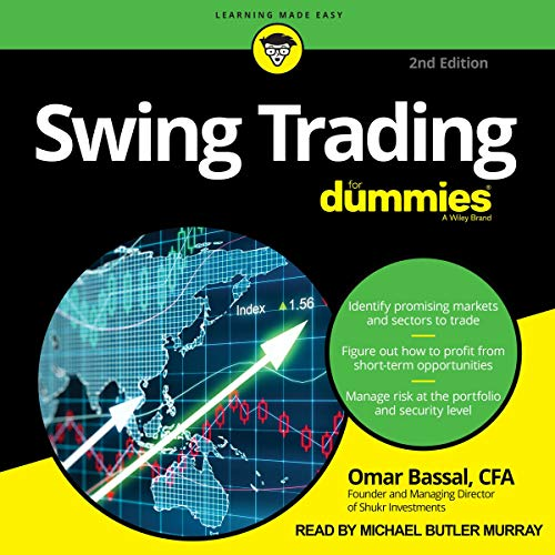 Couverture de Swing Trading for Dummies, 2nd Edition