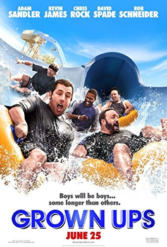 Grown Ups 2010 S/S Movie Poster 11.5x17