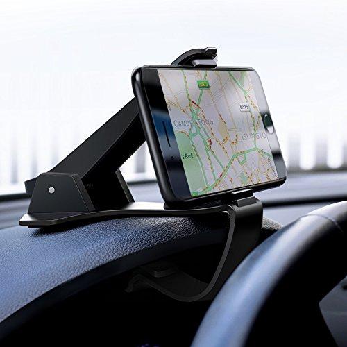 UGREEN Auto Handyhalterung Armaturenbrett Autohalterung KFZ Handyhalter Navi GPS Halterung Motorrad Handy Halterung kompatibel mit iPhone 11, iPhone X, iPhone 8, Samsung S10 S9, Huawei P30 P20 usw.