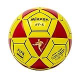 Mikasa FT5Meta Maestro Pelota de fútbol, Rojo/Amarillo, tamaño 5