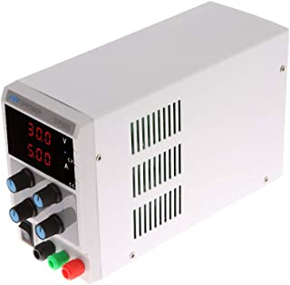 Power Supply, KKmoon 0-30V 0-5A Mini Digital Regulated DC Power Supply Adjustable Output Voltage Current STP3005 US Plug