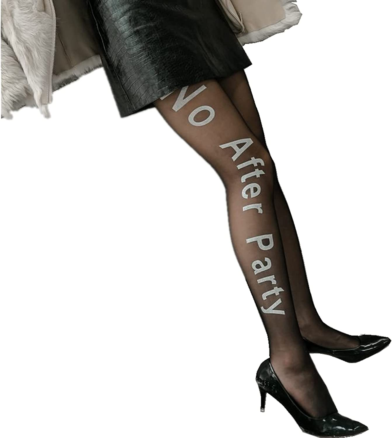 Ladies sexy shiny party opaque tight stockings high waist pantyhose