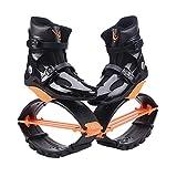 Zapatos de Salto de Rebote Deporte Entrenamiento físico Pérdida de Peso Correr Botas de Salto Botas inflables Antideslizantes Ajustables para Actividades en Interiores y Exteriores (XXL)