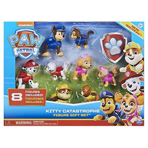 PAW Patrol 6058524 - Chaos-Kätzchen Geschenkset mit 8 Figuren