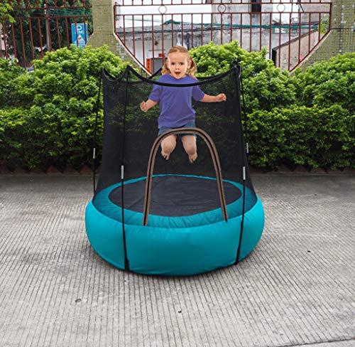 CJY-Cushion kids Fold Bounce Trampoline Inflatable trampoline inflatable jumping bed, outdoor children's play trampoline, easy to carry,mute, light weight, wear resistance, good waterproof