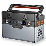 Allpowers - Generador portátil 666 Wh / 185200 mAh, energía de emergencia, onda sinusoidal pura con inversor de corriente DC/AC para camping, uso doméstico, caravana, exterior